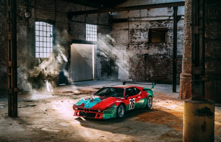 Urodziny BMW M1 Art Car Andy'ego Warhola